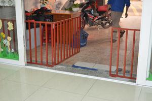 chặn cầu thang nhà trẻ 01_Nice Garden Việt Nam